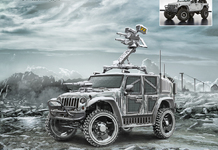 """Jeep"" Arctic Defence Truck"