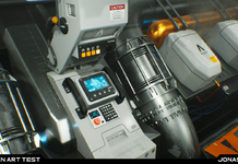 Oxygen Generator Room - Star Citizen Test